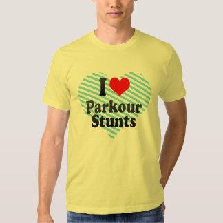 I love Parkour Stunts T-shirt