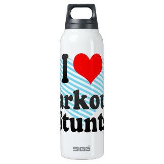 I love Parkour Stunts Thermos Bottle