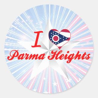 I Love Parma Heights, Ohio Sticker