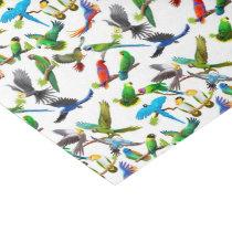 I Love Parrots Tissue Paper