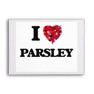 I Love Parsley Envelope