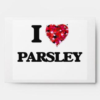 I Love Parsley Envelopes
