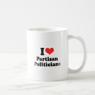 I LOVE PARTISAN POLITICIANS.png Mug