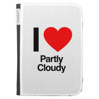 i love partly cloudy kindle 3G cover