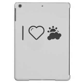 I Love Partly Cloudy Weather iPad Air Cases