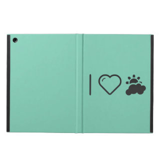 I Love Partly Cloudy Weather Cover For iPad Air