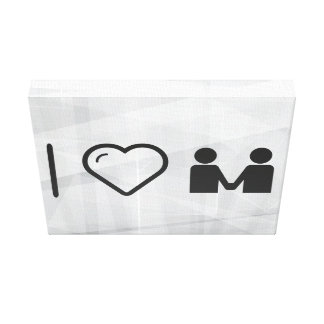 I Love Partnership Contracts Canvas Print