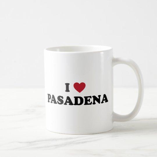 I Love Pasadena California Coffee Mug