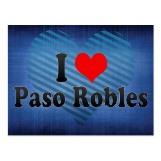 I Love Paso Robles, United States Postcards
