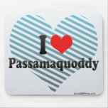I Love Passamaquoddy Mouse Pad