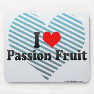 I Love Passion Fruit Mouse Pad