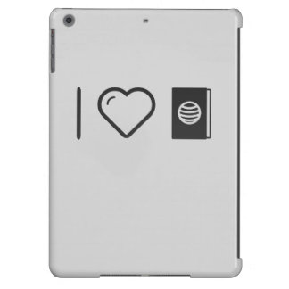 I Love Passport For Diplomats iPad Air Covers