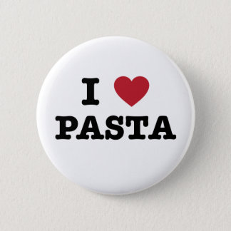 I Love Pasta Button