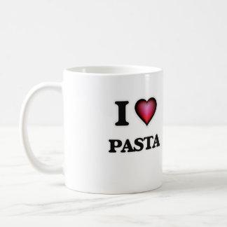 I Love Pasta Coffee Mug