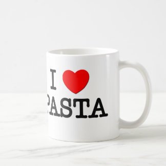 I Love PASTA ( food ) Coffee Mug