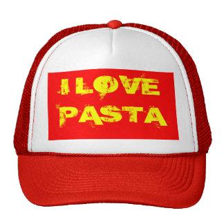 I LOVE PASTA TRUCKER HAT