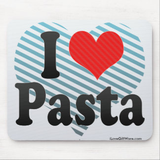 I Love Pasta Mouse Pad
