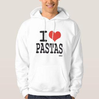 I love Pastas Hoodie