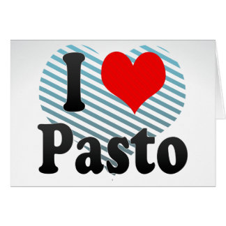 I Love Pasto, Colombia Cards
