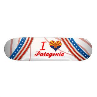 I Love Patagonia, Arizona Custom Skateboard