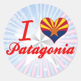 I Love Patagonia, Arizona Sticker