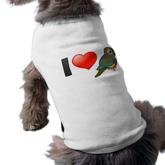I Love Patagonian Conures Pet Clothing