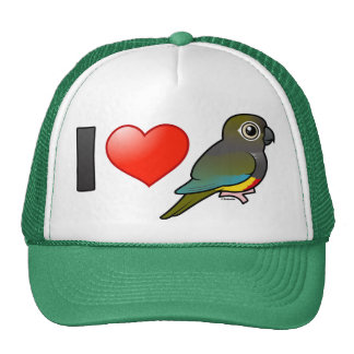 I Love Patagonian Conures Trucker Hat
