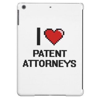 I love Patent Attorneys iPad Air Cover