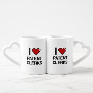 I love Patent Clerks Couples Mug