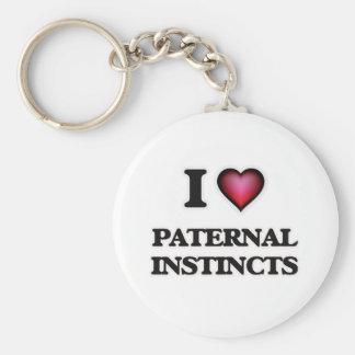 I Love Paternal Instincts Keychain