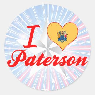 I Love Paterson, New Jersey Sticker