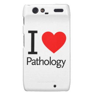 I Love Pathology Motorola Droid RAZR Cover