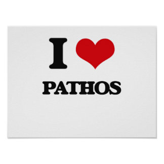 I Love Pathos Poster
