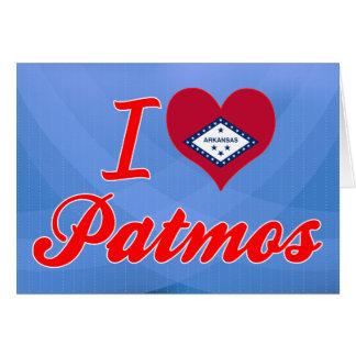 I Love Patmos, Arkansas Greeting Card