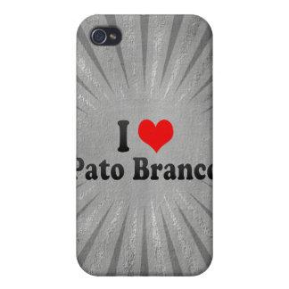 I Love Pato Branco, Brazil iPhone 4 Covers