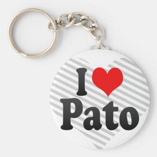 I love Pato Keychain