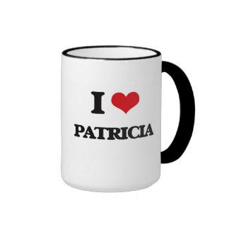 I Love Patricia Ringer Coffee Mug