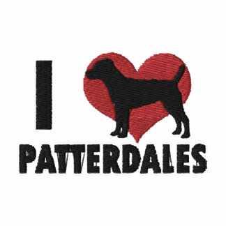 I Love Patterdales Embroidered T-Shirt