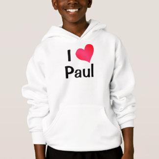 I Love Paul Hoodie