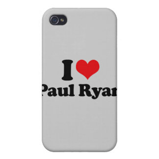 I LOVE PAUL RYAN 2 png Case For iPhone 4