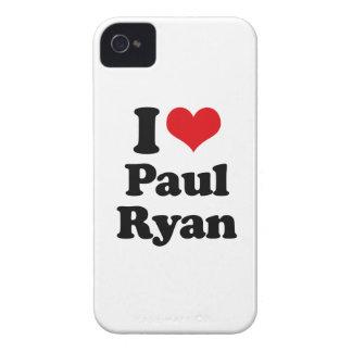 I LOVE PAUL RYAN png Blackberry Case
