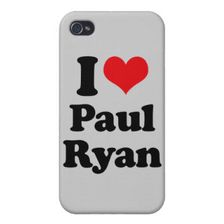 I LOVE PAUL RYAN png iPhone 4 Covers