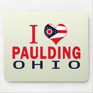 I love Paulding, Ohio Mouse Pad