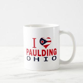 I love Paulding, Ohio Coffee Mug