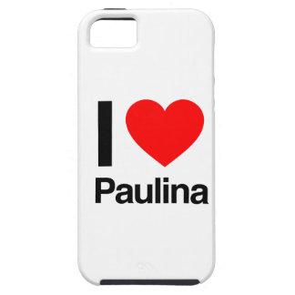 i love paulina iPhone 5 cover