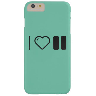 I Love Pause Cues Barely There iPhone 6 Plus Case