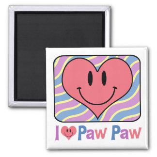 I Love Paw Paw Magnet