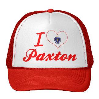 I Love Paxton, Massachusetts Trucker Hat