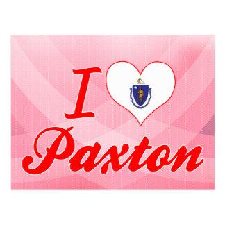 I Love Paxton, Massachusetts Postcard