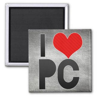 I Love PC Fridge Magnet